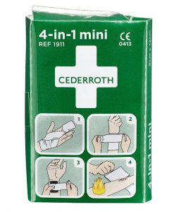 Cederroth 4-in-1 pieni ensiapuside