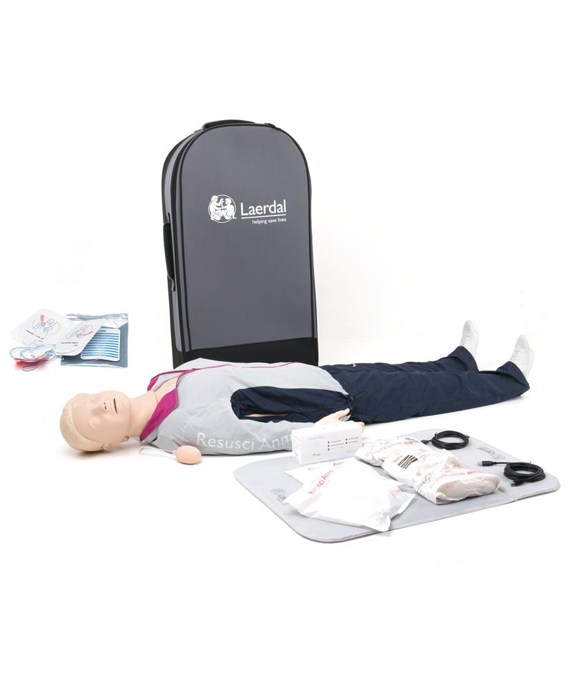 Resusci Anne AED, defibrilloitava elvytysnukke 173-01260