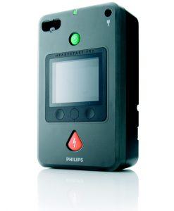 Philips HeartStart FR3 -defibrillaattori ja tarvikkeet
