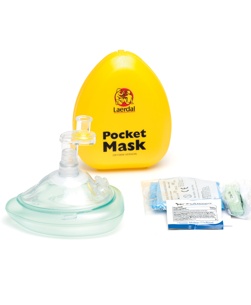 Pocket Mask taskunaamari happivaraajalittimellä