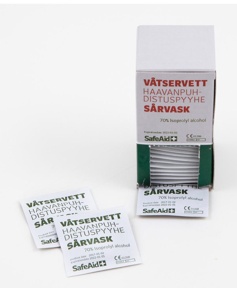 Haavapyyhe 35 kpl 1303