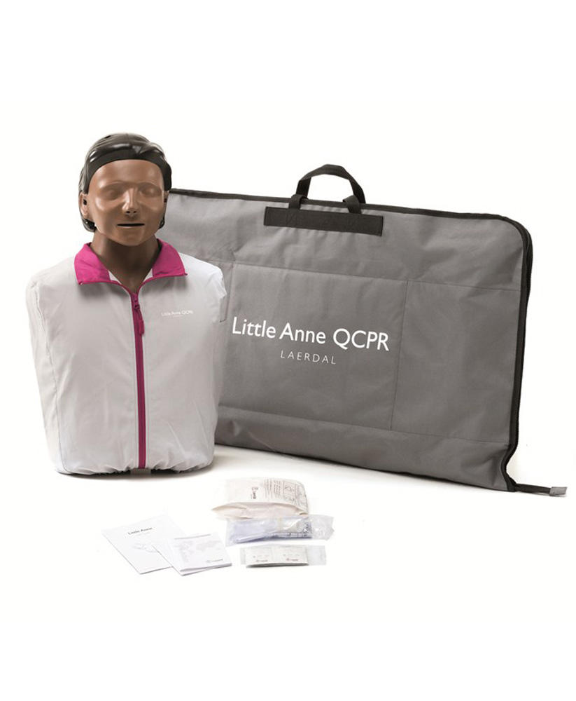 Little Anne QCPR tumma