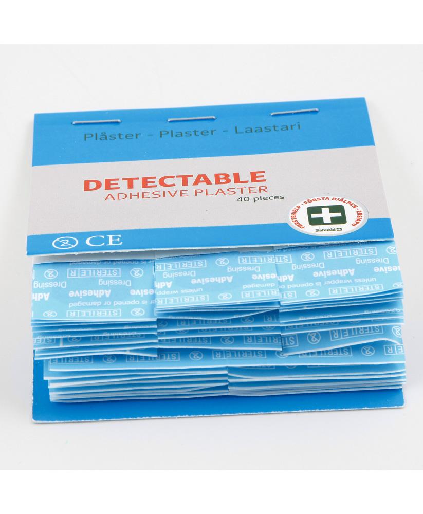 Sininen muovilaastari 40 kpl 1325