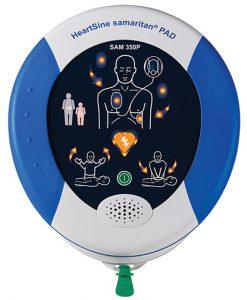 HeartSine Samaritan defibrillaattorit ja tarvikkeet