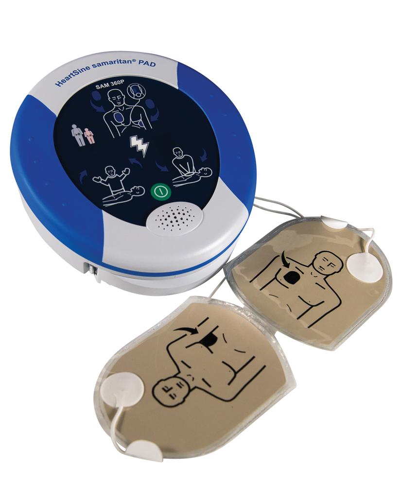 Samaritan automaattinen defibrillaattori