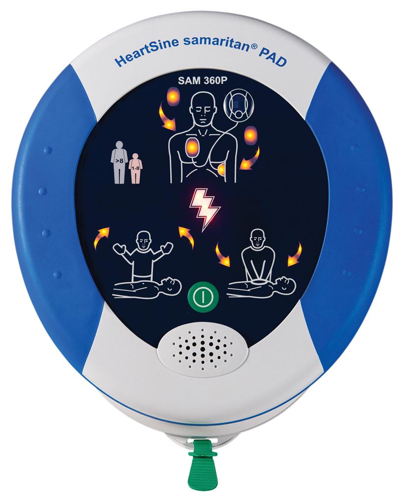 360P HeartSine Samaritan automaattinen defibrillaattori