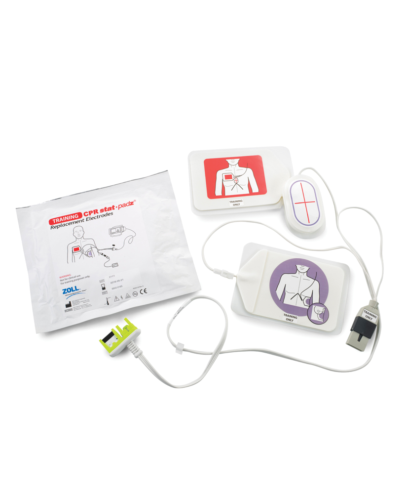 8900.0190 CPR Stat-Padz harjoistuskaapeli ja -elektrodit