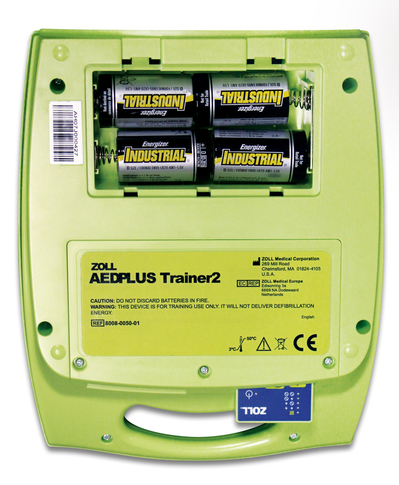 Zoll AED Plus Trainer paristokotelo