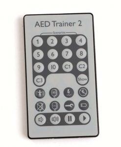 AED Trainer 2 kaukosäädin