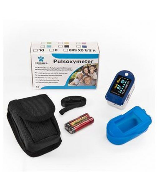Fingertip Oximeter happisaturaatiomittari