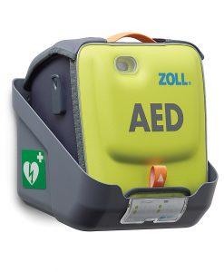 Zoll AED3 seinäteline, Suojalaukun kanssa käytettävä