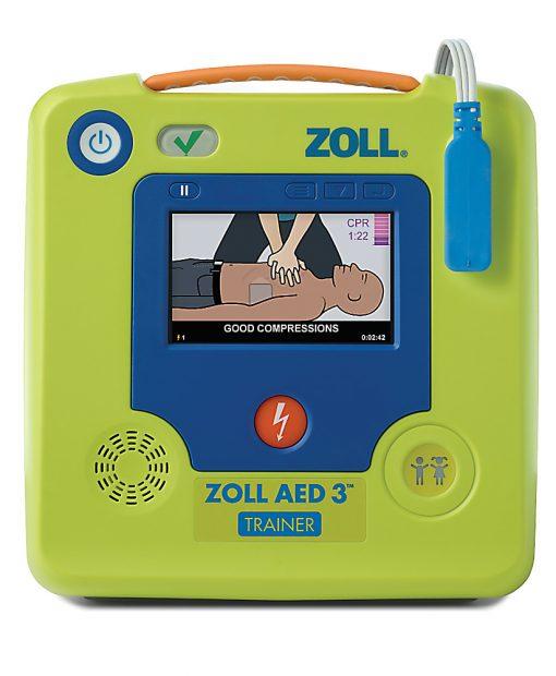 Zoll AED3 Trainer -harjoitusdefibrillaattori